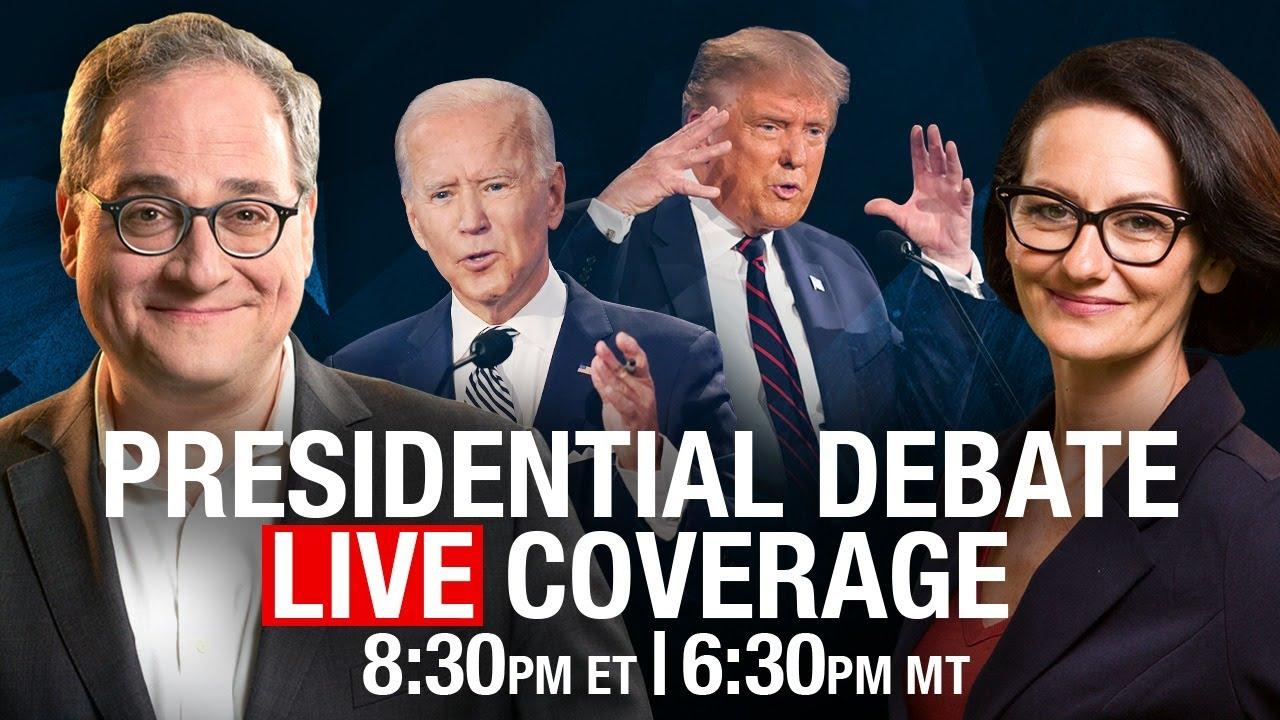 EZRA and SHEILA LIVE! Trump v Biden Presidential Debate