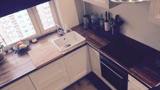 видео Напольный шкаф для кухни со столешницей
