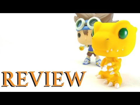 Digimon Digital Monsters Agumon Funko pop! | A not so Awesome Review
