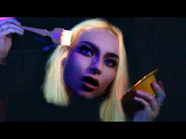 trying UV hair dye