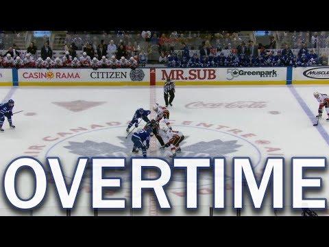 Full Overtime - Calgary Flames vs Toronto Maple Leafs - 12/06/2017