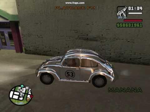 volkswagen beetle  gta san andreas youtube