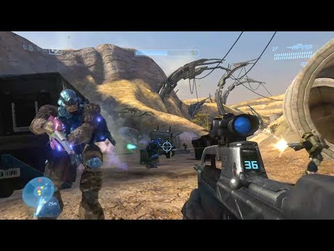 Halo 3 Campaign [Part 6] - Ike's Karaoke Comradery in Africa!