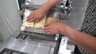 Instant noodle production line/fried instant noodle making machine