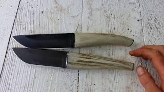 Нож из напильника, ручной работы.