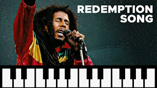 how to play - redemption Song - bob marley