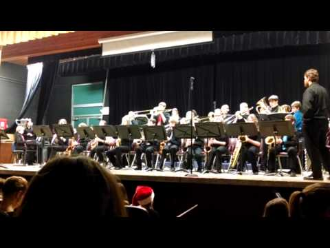 Simle Middle School Jazz Band Concert 12-9-2013 (Thriller)