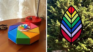 12 Colorful Home Decor Ideas and Rainbow Crafts