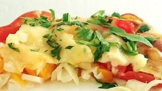 Невероятно вкусный гратен с кольраби, морковью, луком. Очень простой и вкусный рецепт. Gratin