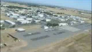 Landing at Red Bluff, CA airport