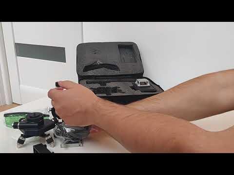 Лазерный уровень 3d DEKO NEW BLUE бирюзовый луч 12 линий