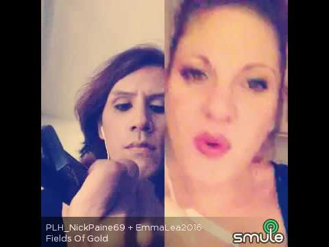 Emma Lea feat Nick Paine - Fields of Gold (Smule Cover) #smule #smulesing