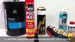interflon Power Wipes - Demo Video