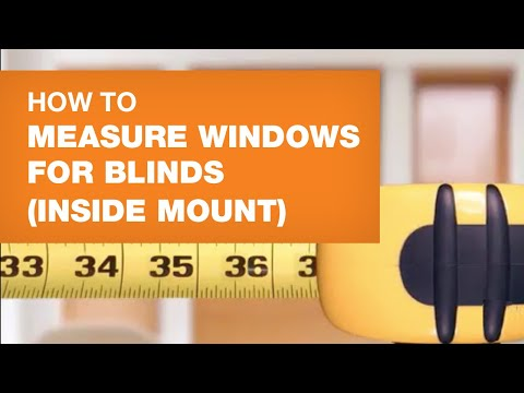 How To Measure Windows For Blinds (Inside Mount)