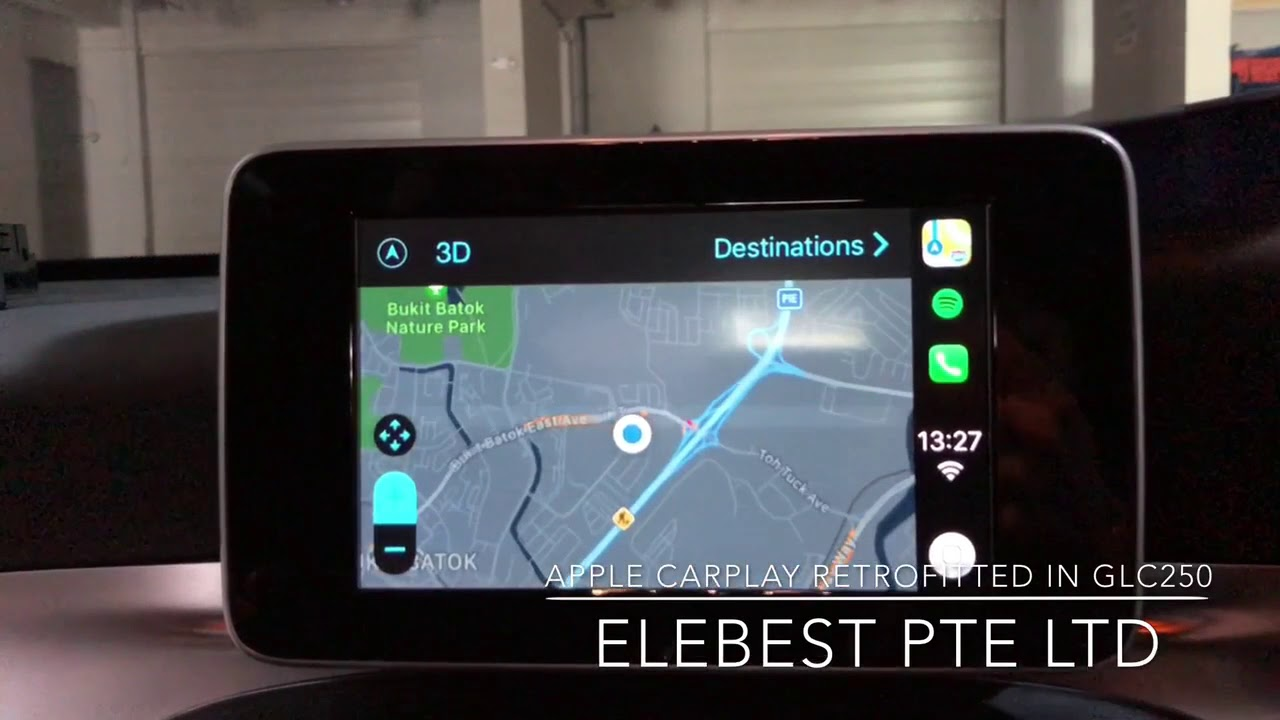 CarPlay, Android Auto, Garmin for W205 C-Class & GLC