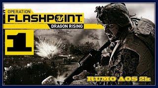 """Operation Flashpoint Dragon Rising - #1: O jogo mais fiel a """"realidade"""" que eu já joguei"""