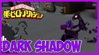 THIS DARK SHADOW QUIRK IS NICE | GRAND QUEST ACADEMIA | ROBLOX | iBeMaine