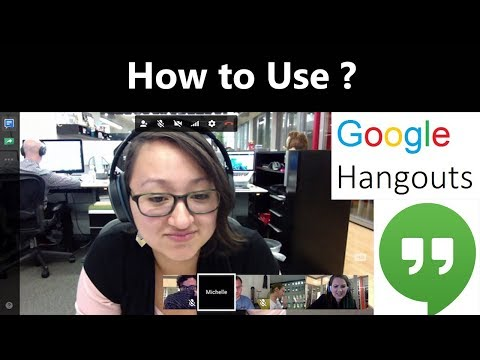 How To Use Google Hangout For Free | Screen Sharing | Video Calling And Chat With Multiple People