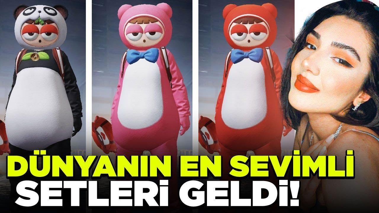 DÜNYANIN EN TATLI SETLERİ GELDİ !! - PUBG Mobile