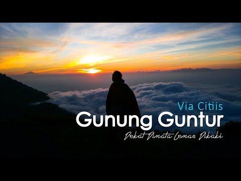 Sunrises Gunung Guntur | Dekat Dimata - Lemas Dikaki