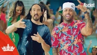Jaleo - Nicky Jam X Steve Aoki (Instrumental) Video