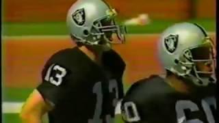 1988 week 6 Dolphins at Raiders