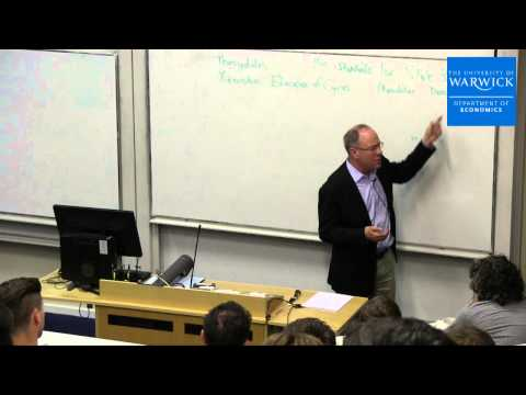 "Nobel Prize Winning Economist Professor Roger Myerson ""Politics and war"" lecture"