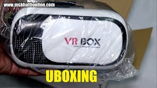 Under $10 VR Box VR02 Virtual Reality 3D Glasses Unboxing | TECHNICAL SAJID