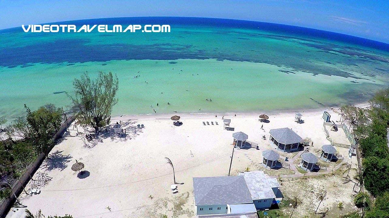 Priory Jamaica  City pictures : Priory Public Beach Jamaica aerial video YouTube