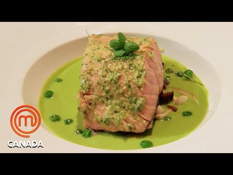 Salmon Dish Competition - MasterChef Canada | MasterChef World