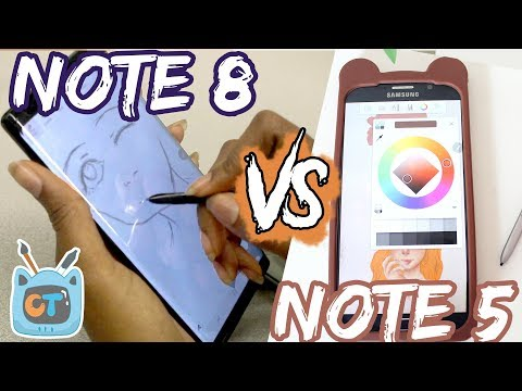 Note 8 vs. Note 5 | Artist Review