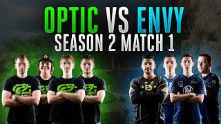 Black Ops 3 CWL - Season 2 Match 1 - OpTic vs. nV