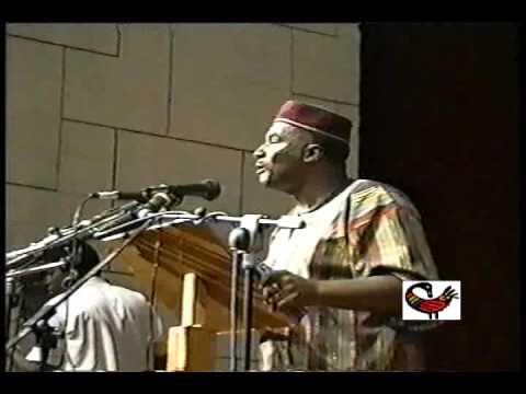 Dr. Leonard Jeffries - National Council Of Black Studies Conference,1993 - Ghana, Africa