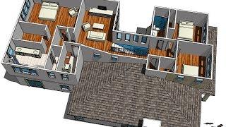 Как за час сделать дизайн самому часть 2 делаем дизайн квартиры