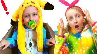 Part.3 Tawaki kids pretends to play with Eva