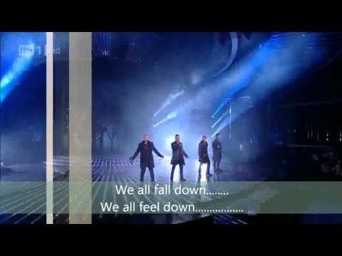 Westlife Perform Safe - The X Factor HD lyrics