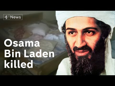 Osama bin Laden killed as raid is watched...