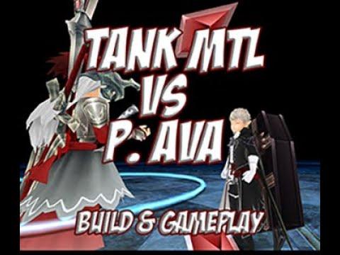 Toram Online - Lvl 157 MTL Tank Build vs P.Ava (no eb/revita)