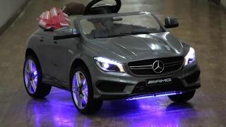 Видео по сборке Mercedes-Benz CLA45 A777AA .