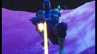 BLUE HYBRID! Ninja skin? -Fortnite in English