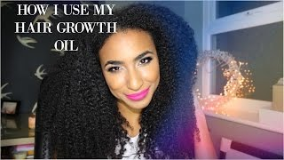 One of Curly Proverbz's most viewed videos: How I use my DIY SUPER hair growth oil and boost its potency