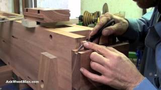 17of 34: How To Build A Roubo Work Bench: Askwoodman Style