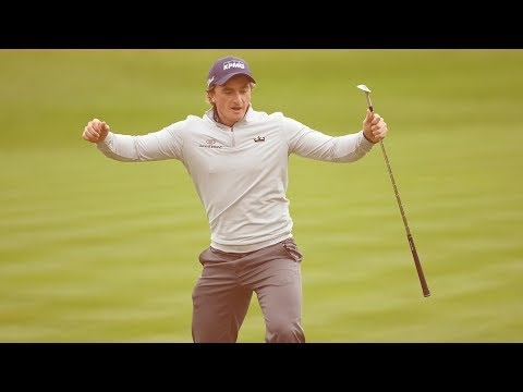 Paul Dunne's amazing final round 61 to win the British Masters