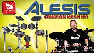 ALESIS CRIMSON MESH KIT Электронная установка, почти как акустические барабаны
