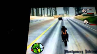 Gta san andreas enfin on joue a 2 joueurs