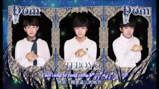 vietsub 20161230 tfboys new song 最新单曲 đom đm 萤火 mp3 full 歌词版