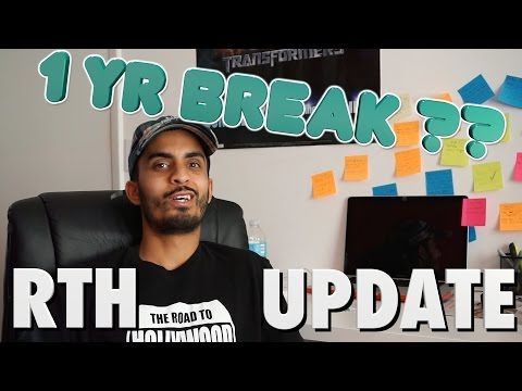 "RTH ""1 YEAR BREAK"" UPDATE!"