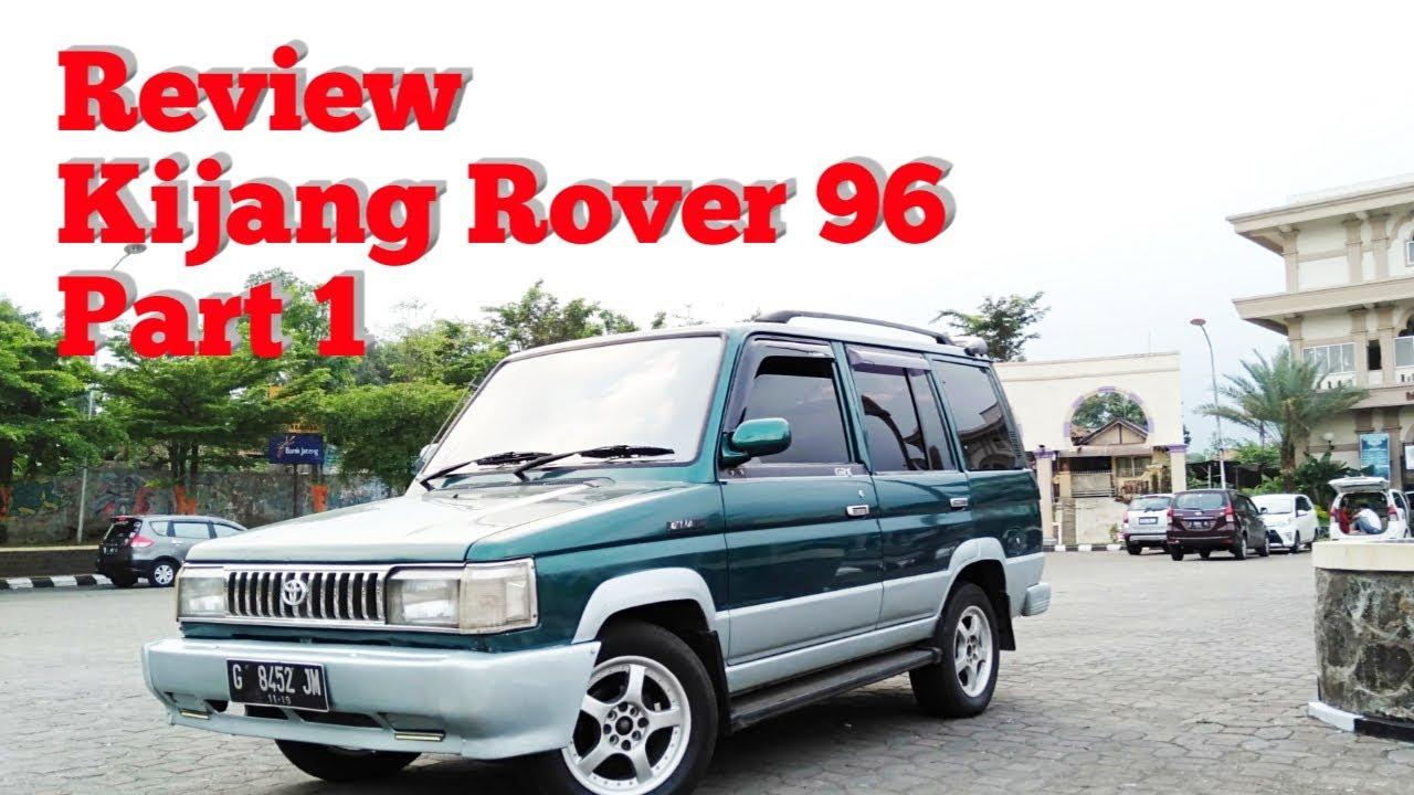 Kekurangan Kijang Rover Review
