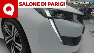 Peugeot 508 ibrida e station wagon, il massimo della praticità!