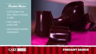 Fondant Cake Decorating Basics - Icing And Frosting Tips - Cake Boss Baking